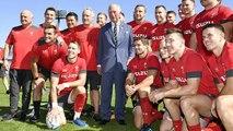 Rugby : le Prince de Galles aux côtés de son équipe au Japon