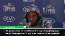 Kawhi confident Clippers defence can get even better