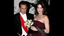 Nicolas et Carla Sarkozy  cette seule photo de mariage jamais publiée