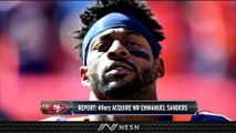 Emmanuel Sanders Traded From Broncos To 49ers
