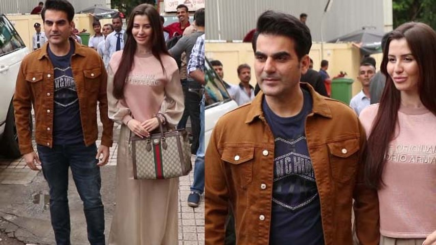 Dabangg 3 Trailer Launch: Arbaaaz Khan with GF at launch Event; Watch Video | FilmiBeat