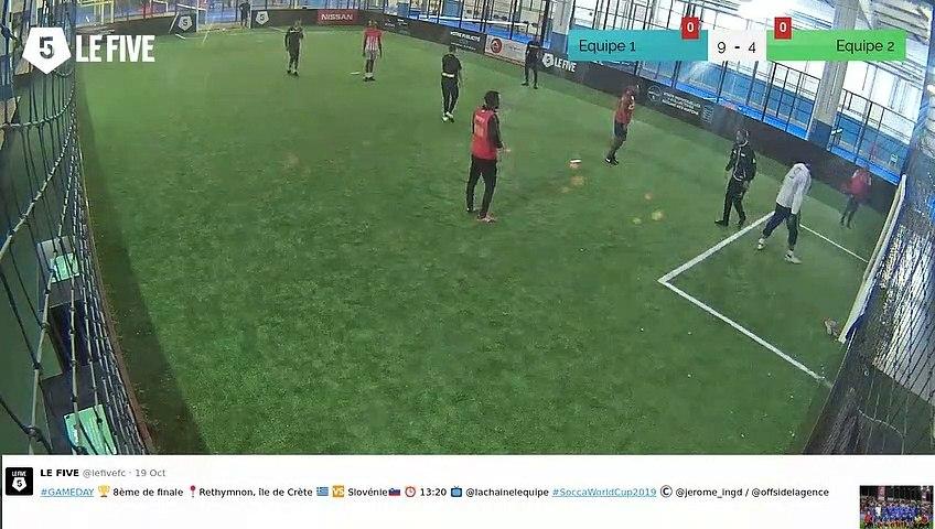 But de Equipe 1 (10-4)