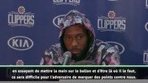"""NBA - Leonard : """"Ce sera difficile de marquer des points contre nous"""""""