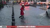 Le 18:18 : rues inondées, circulation paralysée, mer déchaînée... Les images de la Provence sous le déluge