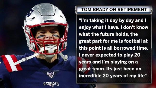 Tom Brady Speaks At Length On Retirement
