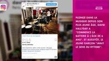 Johnny Hallyday : son fils David partage un tendre souvenir d'enfance