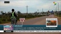 Uruguay: seguridad pública, el tema central de la campaña electoral