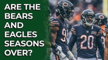 Is the season over for the Bears and Eagles? | Stacking the Box
