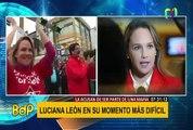 """Cabanillas sobre Luciana León: """"Su mejor recurso va a ser declinar a inmunidad parlamentaria"""""""
