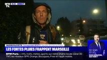 Les fortes pluies frappent désormais Marseille