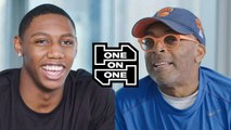 RJ Barrett and Spike Lee Have an Epic Conversation
