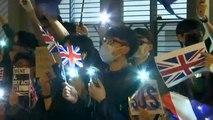Hong Kong : des manifestants réclament l'aide du Royaume-Uni