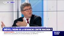 """Grande grève: pour Jean-Luc Mélenchon, """"le 5 décembre, il faut se mobiliser"""""""