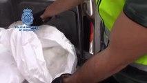 La Policía Nacional se incauta de más de 100 kilos de cristal, una potente metanfetamina