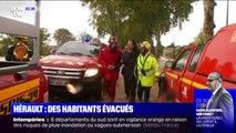 Hérault: de nombreux dégâts et plus de 200 personnes évacuées après les intempéries