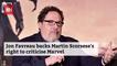 Jon Favreau Responds To Martin Scorsese's Views