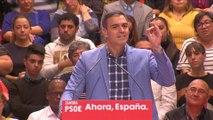 """Sánchez reivindica la exhumación de Franco como """"una gran victoria"""""""