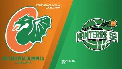 7Days EuroCup Highlights Regular Season, Round 4: Olimpija 87-93 Nanterre
