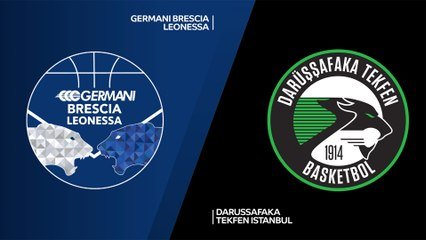 7Days EuroCup Highlights Regular Season, Round 4: Brescia 35-61 Darussafaka
