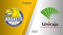 EWE Baskets Oldenburg - Unicaja Malaga Highlights | 7DAYS EuroCup, RS Round 4
