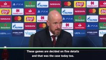 Ten Hag frustrated after Ajax defeat to Chelsea