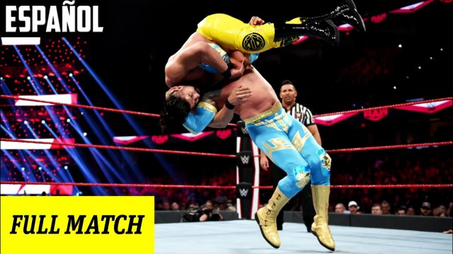 WWE Raw: Sin Cara vs. Andrade | Español Latino HD