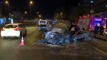 Avcılar'da zincirleme trafik kazası: 1 yaralı
