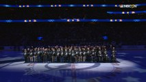 Tampa Bay Lightning honor Medal of Honor recipients during pregame ceremony