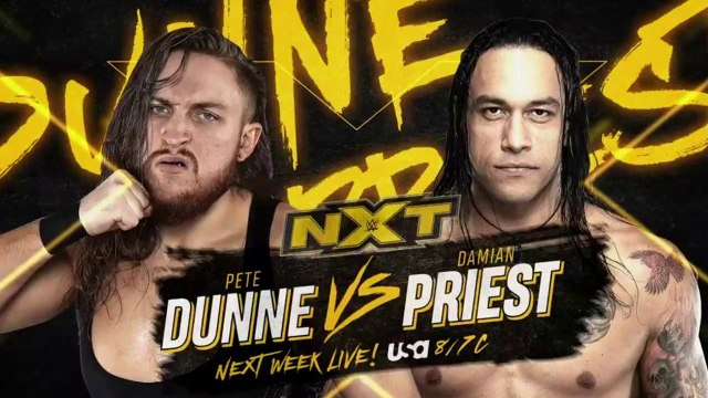 WWE NXT: Pete Dunne vs. Damian Priest | Español Latino HD