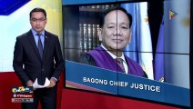 Peralta, bagong Supreme Court chief justice
