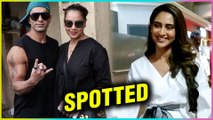 Karan Singh Grover With Bipasha Basu At Spa & Krystle D'souza SPOTTED At The Airport