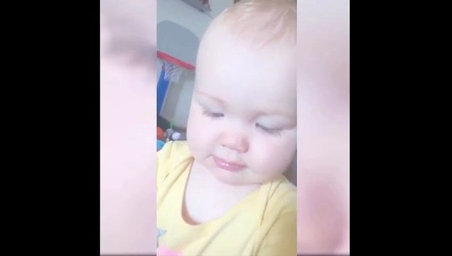 This Cute Baby Girl Is Learning So Fast