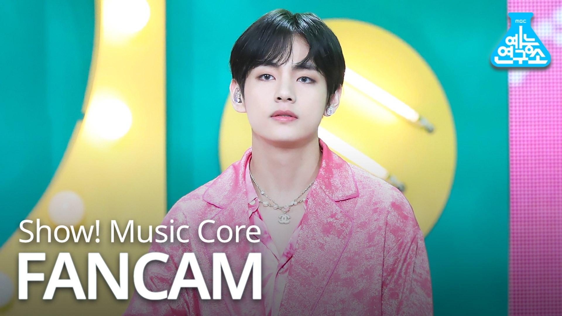 [예능연구소 직캠] BTS - Boy With Luv (V), 방탄소년단 - 작은 것들을 위한 시 (뷔) @Show Music core 20190427