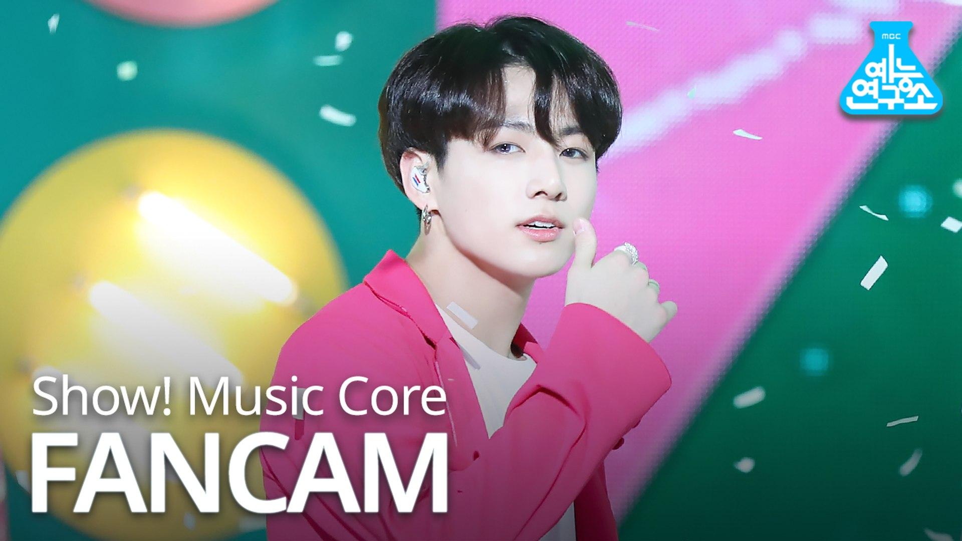 [예능연구소 직캠] BTS - Boy With Luv (JUNGKOOK), 방탄소년단 - 작은 것들을 위한 시 (정국) @Show Music core 20190427