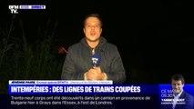 Les intempéries provoquent l'interruption de la circulation des trains sur les lignes Montpellier-Toulouse et Montpellier-Espagne