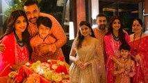 Shilpa Shetty performs Laxmi puja in Phuket with husband Raj Kundra; Watch video | FilmiBeat