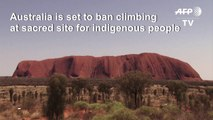 Australia's Uluru climbing ban set to start