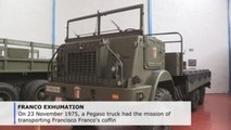 The Pegaso truck with one mission only: taking Franco to his funeral