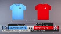 Match Review: New York City FC vs Toronto FC on 23/10/2019
