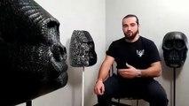 Gautier Sallerin, le menuisier devenu sculpteur sur bois brûlé