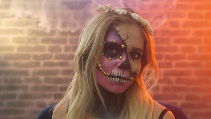 Halloween makeup tutorial : The Sugar Skull