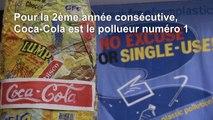 Coca et Nestlé, champions mondiaux de la pollution plastique (rapport)