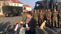"""Aufschrei: Kramp-Karrenbauer spricht von """"Annexion"""" durch Türkei"""