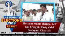 Haryana wants change, JJP will bring it: Party chief Dushyant Chautala