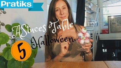 Comment décorer votre table à Halloween