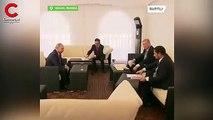 Erdoğan-Putin görüşmesinde dikkat çeken harita detayı