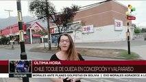 Chile: toque de queda en zona metropolitana iniciará a las 22 horas