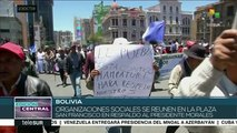 Bolivia: pdte. Evo Morales denuncia planes golpistas de la oposición
