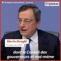 Les derniers mots de Mario Draghi en tant que président de la BCE