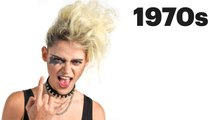 100 Years of Goth, Punk, and Vamp Beauty